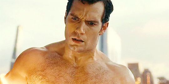 Henry Cavill as Clark Kent in Justice League.