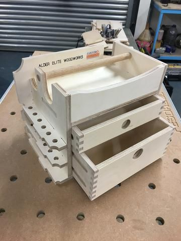 Systainer Insert no4 2 Drawer