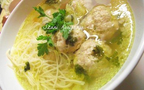 Great Plain meatball soup - Alföldi húsgombóc leves recept Szani konyhája konyhájából - Receptneked.hu