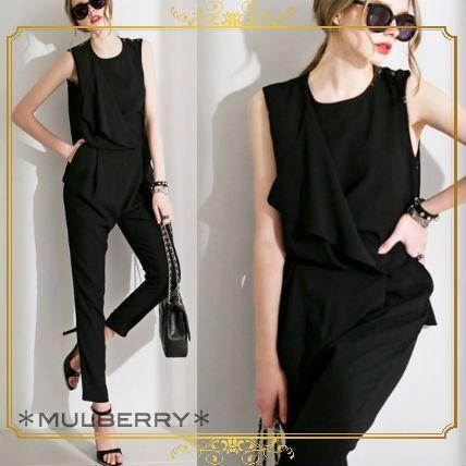mulberry☆韓国新作 ベーシック 大人スタイル オールインワン