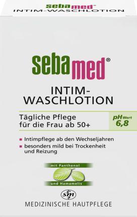 Das Intim-Waschgel pH-Wert 6,8 von sebamed eignet sich zur sanften Reinigung der empfindlichen Haut im äußeren Intimbereich für Frauen in und nach den...