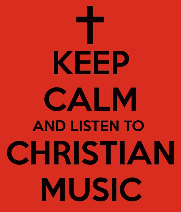 I love Christian music. Helps me though so much
