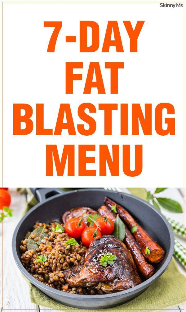 The good news is that eating well isnt as hard or as boring as you might think. Get started with this tasty 7-Day Fat-Blasting Menu.