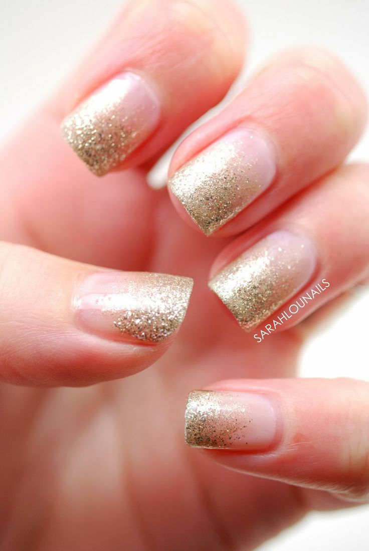 Glitter Nail Trends: 25+ Best Ideas About Glitter Gradient Nails On Pinterest