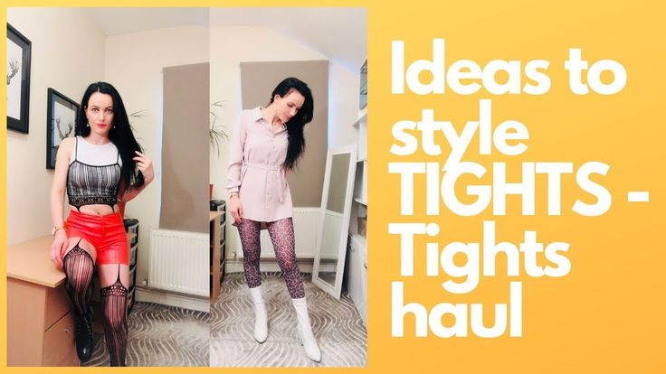 Tights try on – how to style tights #ferrari
