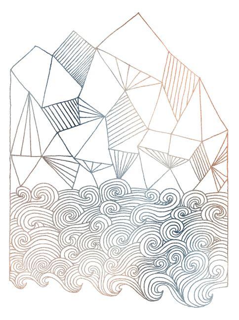 by Matthew Allen: Art Illustrations, Surfing Art, Surfboard Art