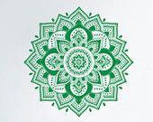 Indische Mandala Wall Decal Yoga Muster Buddha Ganesh Design Schlafzimmer Home Decor