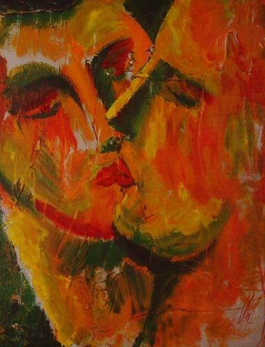 Kiss - Sandro Chia