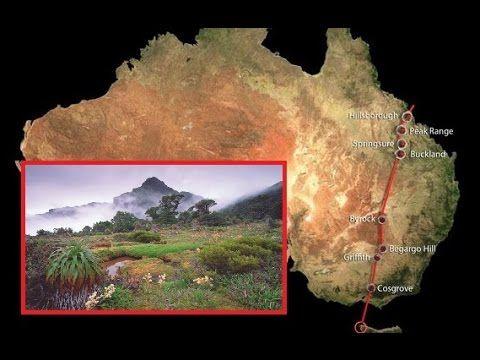 Hidden Superchain of Volcanoes Found in Australia