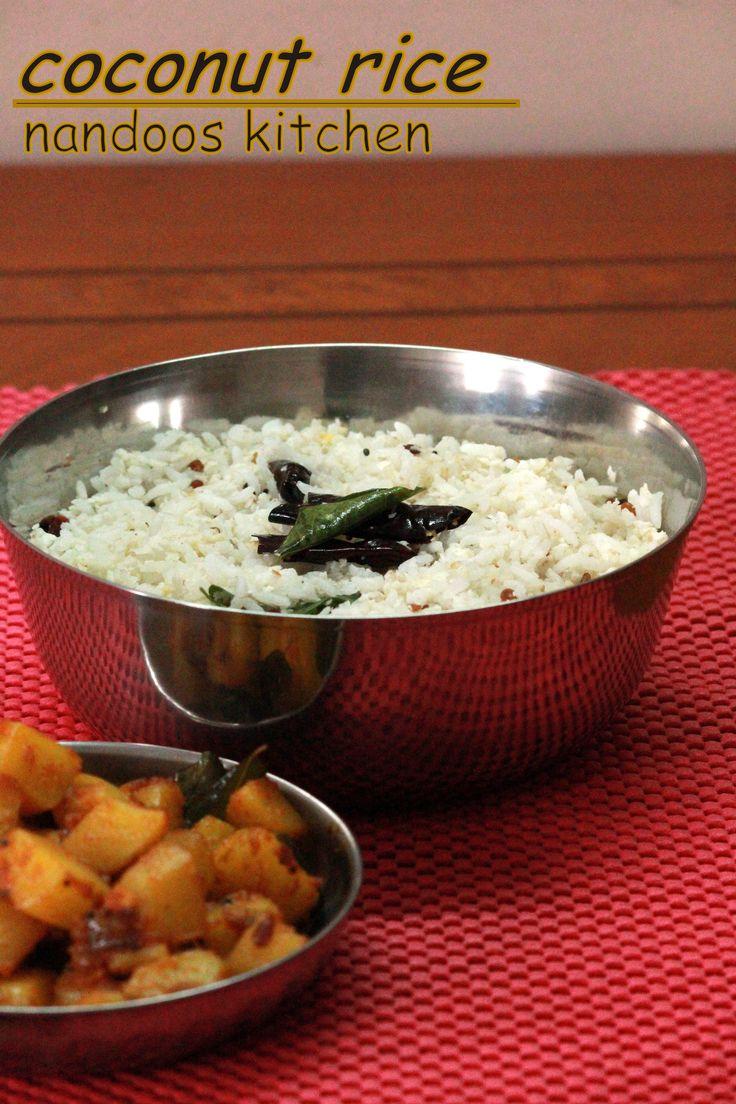 coconut rice http://nandooskitchen.blogspot.in/2013/09/coconut-rice.html