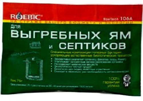 Доктор Робик 106А Средство для ям, септиков, дачи