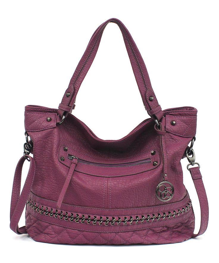Look what I found on #zulily! Magenta Margaret Shoulder Bag by Jessica Simpson Collection #zulilyfinds