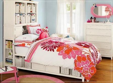 Tempat Tidur Gadis Remaja