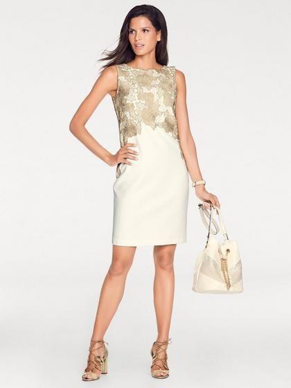 9348d95c0af8 heine TIMELESS Puzdrové šaty s čipkou