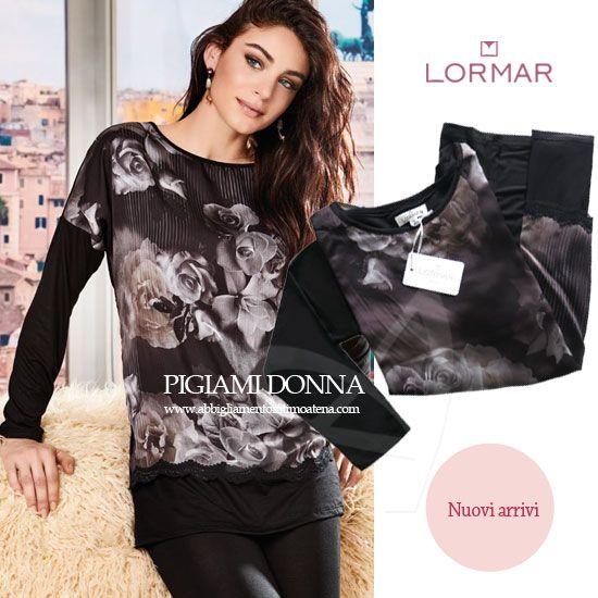 f306e3653c #Dreamwear donna Lormar: tessuti ricercati! Il Dreamwear ricercato  #Autunno/#Inverno