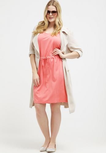 #Junarose jrnew lilla vestito di maglina tea Rosa  ad Euro 24.00 in #Junarose #Donna promo abbigliamento