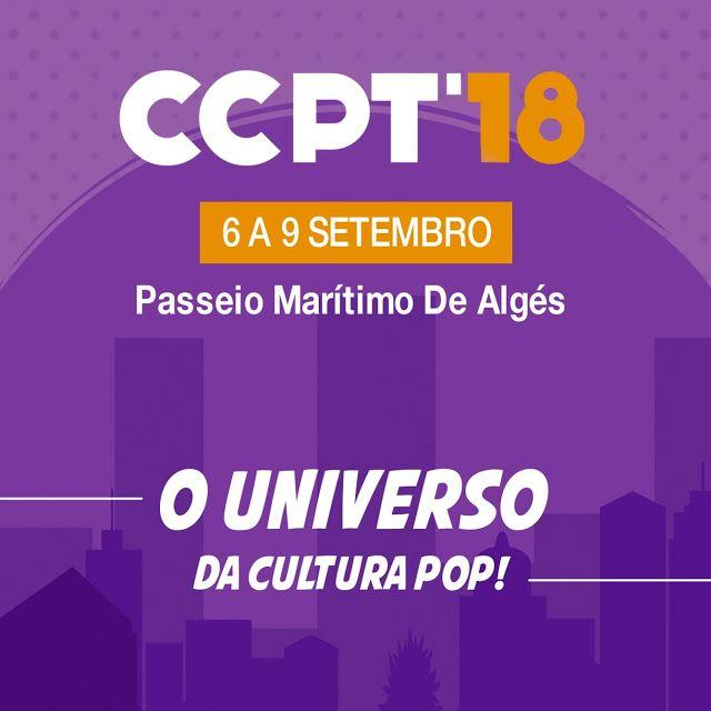 Comic Con Portugal' 18 com data marcada e em novo local... ver mais em www.bdcomics.pt #bdcomicspt