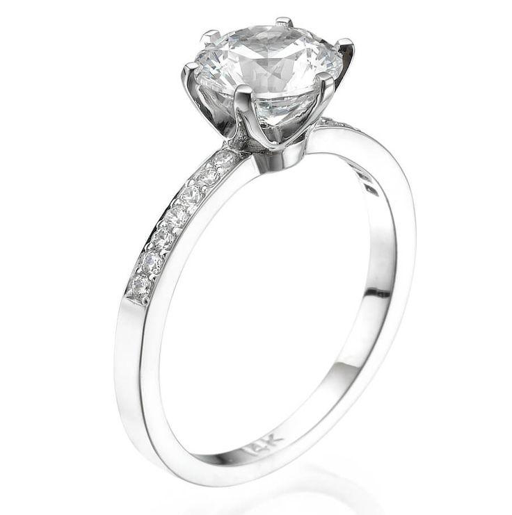 טבעת יהלומים דיינה