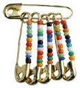 Friendship pins ~ we used to pin them on top of our shoelaces :-)
