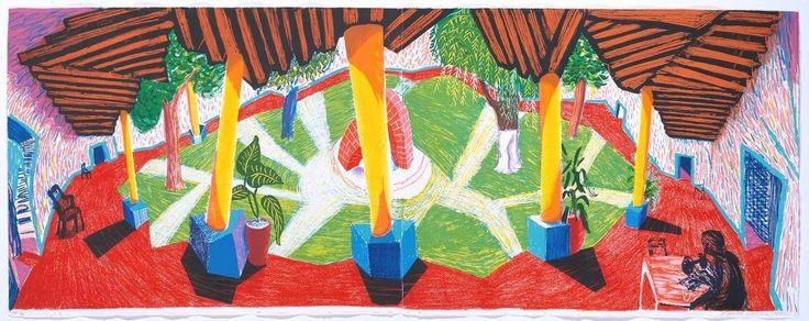 Дэвид Хокни: 60 лет творчества и печатных фокусов