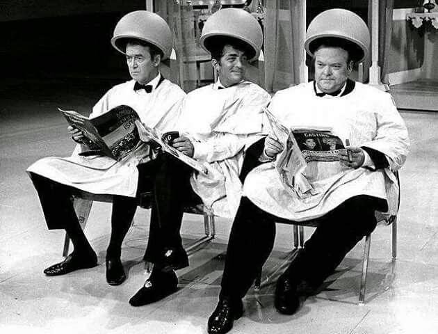 Jimmy Stewart, Dean Martin & Orson Welles on The Dean Martin Show