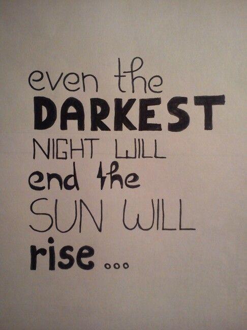 Said Victor Hugo. I think It is true.