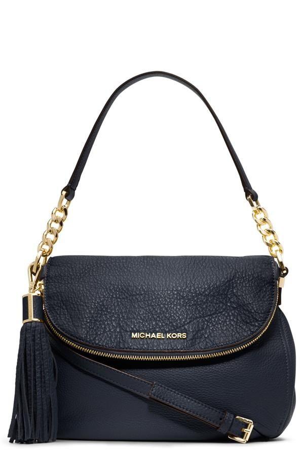 We love the tassels on this shoulder bag.