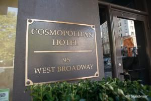 8 Hotels You Can Afford in NYC: Cosmopolitan Hotel-Tribeca
