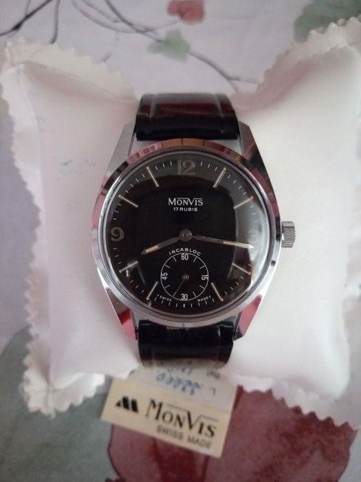 Monvis-leger-stijl mannen horloge-jaren ' 60  EUR 140.00  Meer informatie