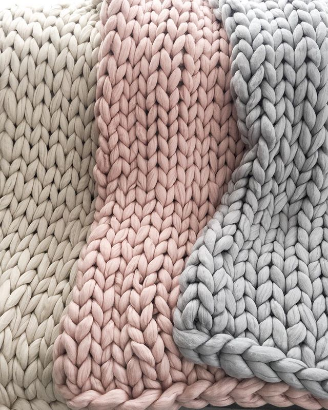 A selection of our Chunky Knit Throws perfect for a luxury look in your home, great size for bed or lounge or even the occasional chair   They are super soft, handmade from 100% Australian Merino wool tops in sand, blush and pebble. Check out our range in the shop section at www.rawluxeinteriors.com.au #chunkyknit, #livingroom