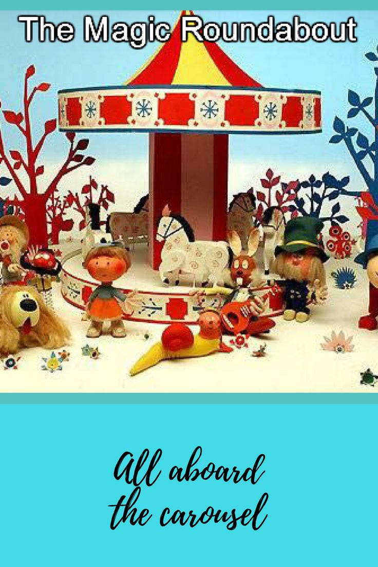 """Not trying to show my age, but The Magic Roundabout was one of our favourite children's tv shows.  <a href=""""https://butterfloblog.wordpress.com/2017/08/08/the-magic-roundabout"""">THE MAGIC ROUNDABOUT</a>"""