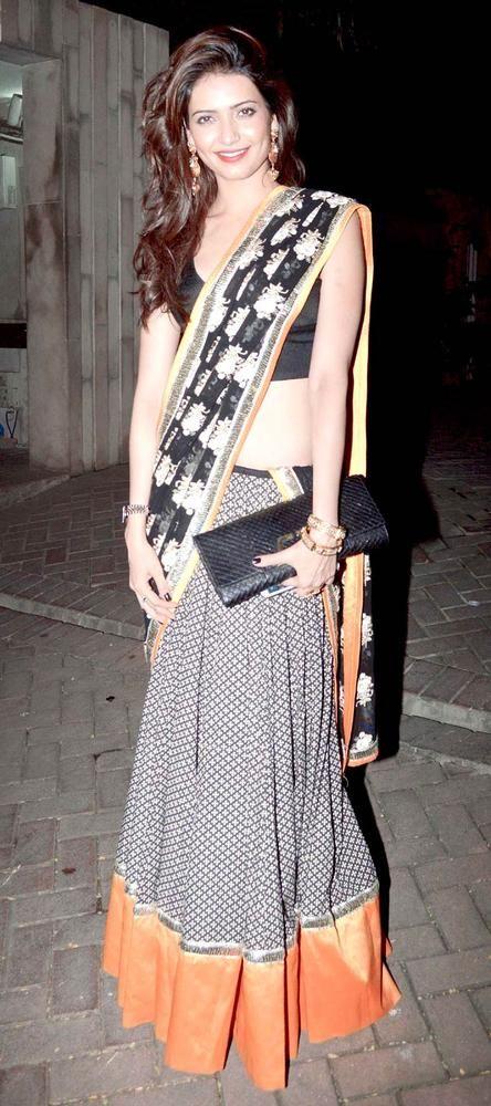 Karishma Tanna at Vikas Bahl's Diwali bash.