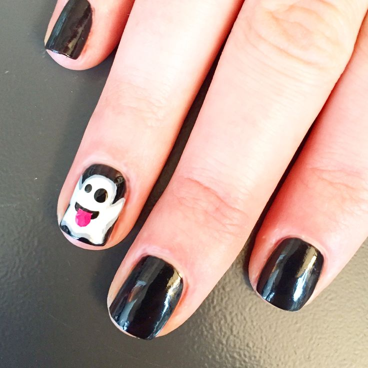 how to make emojis on your nails