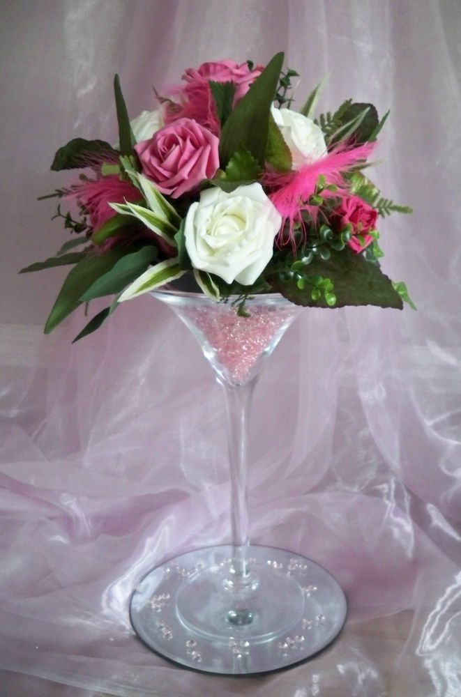 Best martini glass centerpiece ideas on pinterest