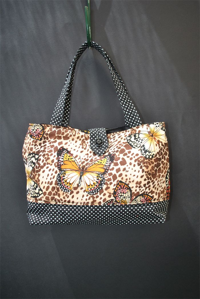 Danica - ladies polka dot butterfly bag | Witching Hour | madeit.com.au