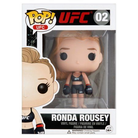 Free 2-day shipping on qualified orders over $35. Buy Pop! UFC 02 Ronda Rousey Vinyl Figure Age 14+ at Walmart.com
