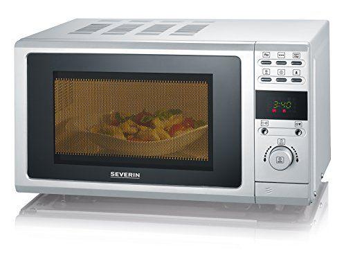 Severin M W7854 Micro onde avec Grill fonction 700 W Argent: Puissance environ 700 W, capacité 20 L, écran LCD avec différents programmes…
