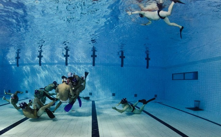 The 9th CMAS Underwater Rugby World Championships Photo By: Marcus Bjuren