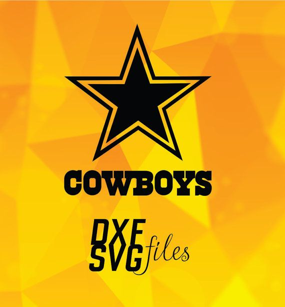 2 Dallas Cowboys Logos In Dxf And Svg Files Instant By
