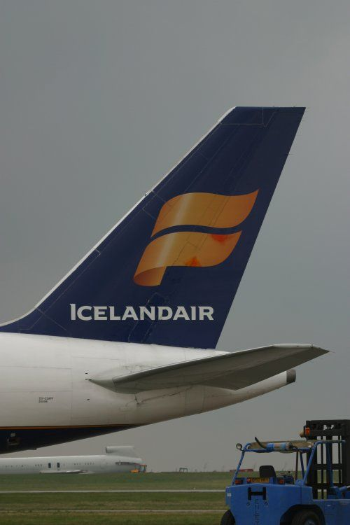 East Midlands Airport Cargo - Icelandair Cargo B757 freighter