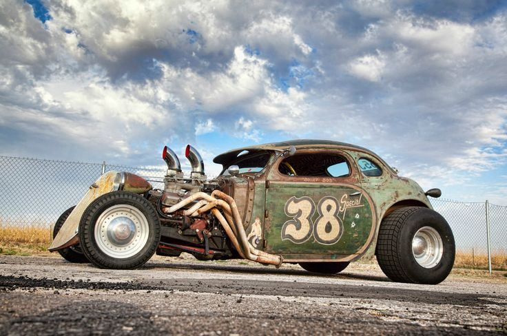 This was in hot rod magazine, this is what got me interested in rat rods!