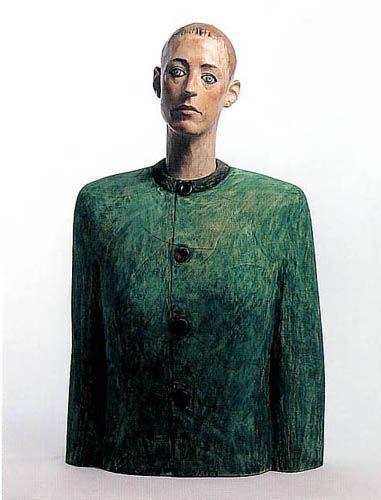 Katsura Funakoshi, Japanese sculptor, b. 1951 かたい布はときどき話す(1988)