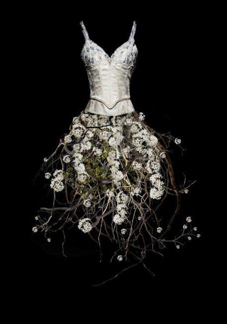 Untitled (Flower Dress), 2010 - Todd Murphy - Artists - Jackson Fine Art - Photography - Atlanta (nature fashion)