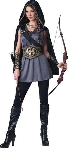 womens renaissance costume...like the vest and belt idea...add a long skirt and under shirt.
