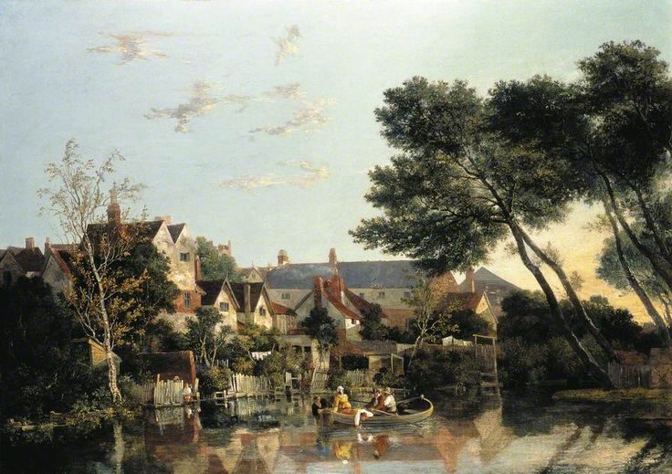 John Crome - Norwich River: Afternoon, 1819