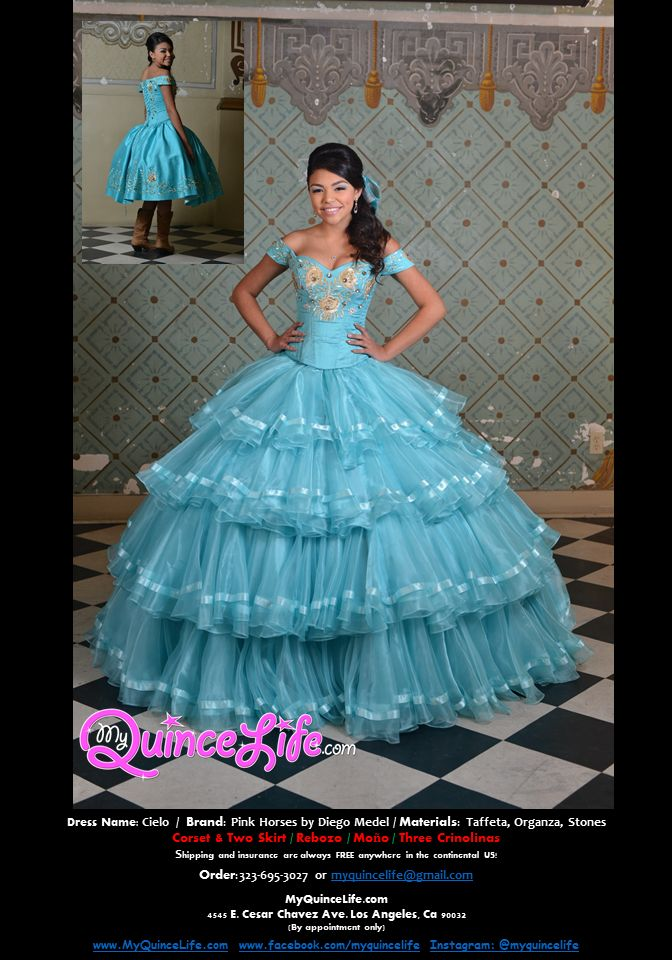 Quinceanera dresses charo style encore