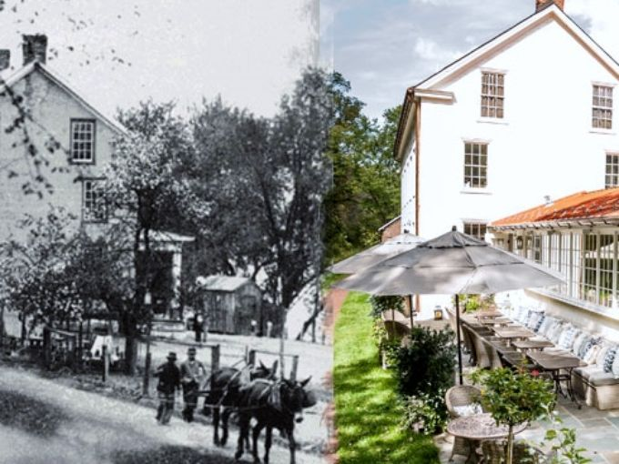 The evolution of the Golden Pheasant Inn, believed to be one of the longest continuously operating commercial properties along the Delaware River.  ~Courtesy of the Golden Pheasant Inn
