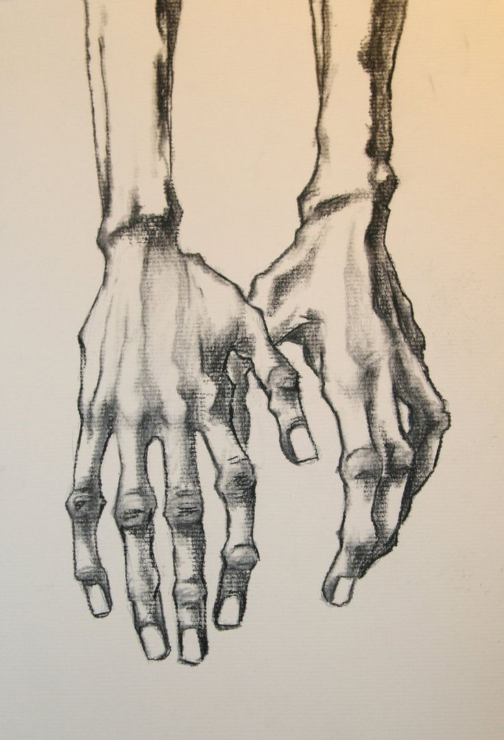 EGON HANDS by QuinteroART