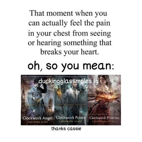 Thanks Cassie -_- I mean, I literally just can't right now. my heart....I don't think I have cried so much over a book.