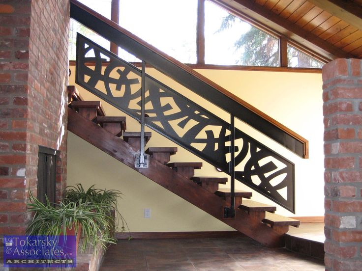 Contemporary Railing With Extensive Welding Per Spec